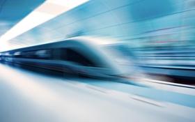 Обои метро, электричка, скорость, движение