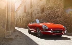 Картинка cars, jaguar, e-type