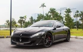 Обои Maserati, Сингапур, GranTurismo, Black