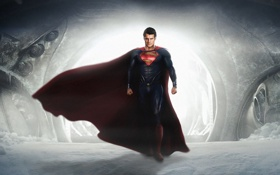 Картинка герой, костюм, superman, супермен, hero, costume, Человек из стали