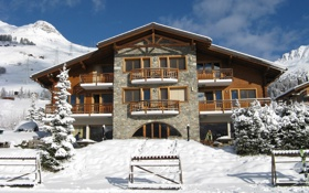 Обои курорт, Вербье, зима, снег, Альпы, горнолыжный, Швейцария