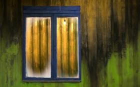 Картинка фон, стена, окно