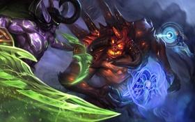Обои illidan stormrage, blizzard, diablo, Heroes of the Storm, warcraft