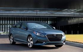 Картинка Hyundai, 2015, хундай, Sonata, PHEV, соната, хендэ