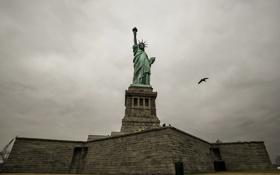 Картинка new york, liberty, statue