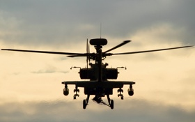 Картинка вертолёт, Apache, ударный, WAH-64D, «Апач»