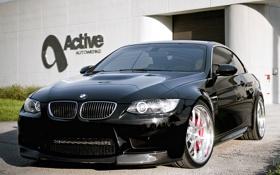 Обои BMW, БМВ, чёрная, black, Cabrio, Active, Autowerke