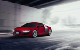 Обои Audi, red, front