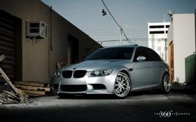 Обои BMW, silver, 360forged