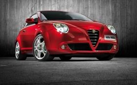 Обои Front, Alfa Romeo