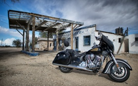 Картинка Indian Chieftain, мотоцикл, Вождь, байк, легенда, стиль