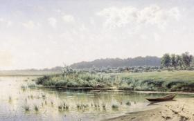 Обои Перед полуднем, Крыжицкий, картина