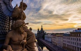 Обои река, канал, Russia, набережная, питер, санкт-петербург, St. Petersburg