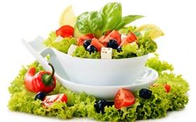 Обои зелень, овощи, vegetables, greens, овощной салат, vegetable salad, зеленый салат