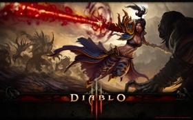 Обои диабло III, диабло, Diablo III, Blizzard, Diablo, Diablo 3, диабло 3