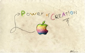 Обои Power, creation