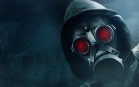 Картинка маска, капюшон, противогаз, фильтр, apocalypse, Mr Apocalyptic