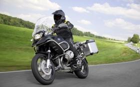 Обои BMW, мотоцикл, эндуро, R1200GS