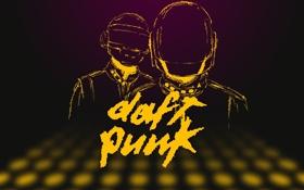 Обои Вектор, Музыка, Стиль, Music, Музыканты, Дафт Панк, Duft Punk