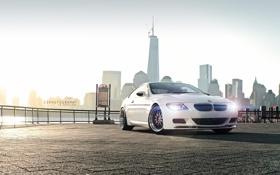 Картинка BMW, БМВ, Фары, Нью Йорк, New York, E56