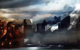 Картинка пейзаж, город, Prototype, Нью-Йорк