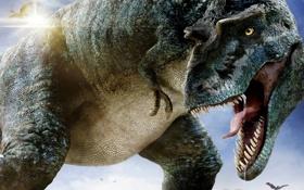 Картинка динозавр, хищник, зубы, пасть, клыки, dinosaur, Ти-Рекс