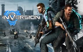 Картинка logo, videogame, Inversion, enemies