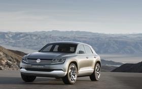 Обои Coupé, Volkswagen Coupé, Volkswagen Cross, auto, electric, cross coupe, cars