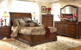 Обои дизайн, стиль, комната, вилла, интерьер, спальня