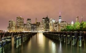 Картинка город, New York, Low Manhattan