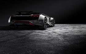 Обои Concept, Gran Turismo, Peugeot Vision, Peugeot GT