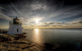 Картинка United States, Newport, Rhode Island, Castle Hill Light