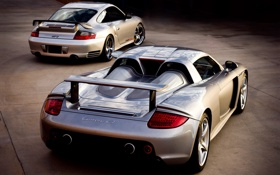 Обои спорткар, 911 GT2, Porsche, Carrera GT, авто