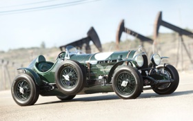 Обои ретро, фон, Bentley, Бентли, зелёный, спорткар, Special