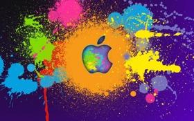 Картинка фон, обои, яблоко, текстура