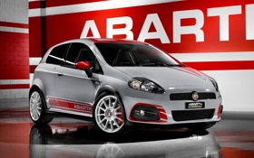 Картинка Гранде, Пунто, Автомобиль, Fiat, Abarth, Punto, Grande