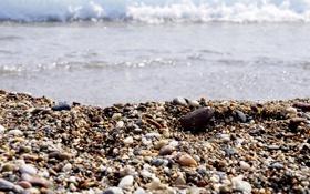 Обои море, пляж, камни