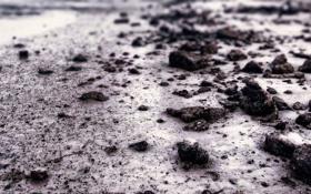 Картинка песок, камни, земля, макро