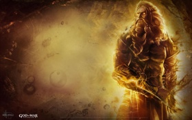 Обои armor, god of war, sony, ps3, zeus, god, powerful