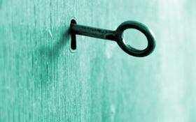 Обои макро, замок, ключ, macro, key, 2560x1600, lock