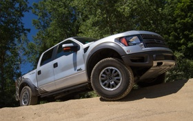 Обои Ford, F-150, форд, тюнинг, Roush, SVT Raptor, машина