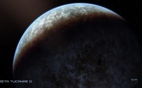 Картинка звезды, свет, тень, атмосфера, экзопланета