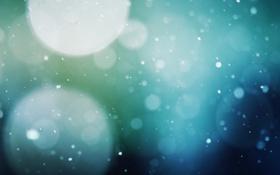 Картинка снег, блики, снегопад, боке, snowfall, snow falling