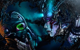 Картинка девушка, арт, пилот, Romantically Apocalyptic, романтика апокалипсиса, alexiuss