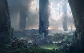 Обои игра, Halo, xbox 360, Halo 4