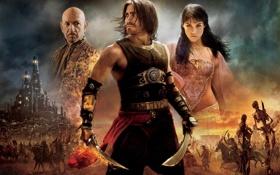Картинка Prince of Persia, Jake Gyllenhaal, Джемма Артертон, Принц Персии, Джейк Джилленхол, Пески времени, The Sands ...