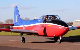 Обои реактивный, британский, учебно-тренировочный самолёт, BAC Jet Provost
