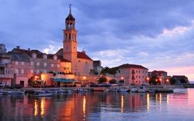 Обои хорватия, гавань, далматия