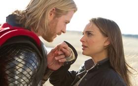 Обои Thor, Тор, Портман, Натали