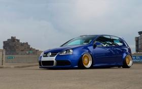 Картинка Volkswagen, R32, Golf